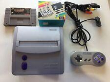 SUPER NINTENDO CONSOLE MINI SNES GAME SYSTEM ORIGINAL SNS-101 PAC MAN  NES HQ #2