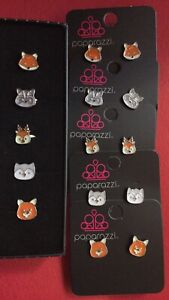 Paparazzi mixed lot of 10 Starlet Shimmer animal rings and earrings NEW