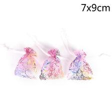 10pcs Jewelry Pouch Gift Bags Wedding Organza Pouches Decoration Randomh5w 7*9