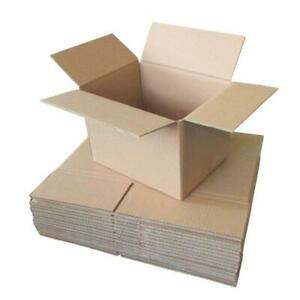 30x Cardboard Boxes 250x150x150mm Carton Box Small Moving Packing Storage Mail
