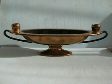More details for beswick oval dish with two candle holders.no1798.