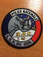 PATCH POLICE FRANCE - BAC 42 - ORIGINAL!