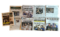 Los Angeles Lakers Champions - OCTOBER 12, 2020 Lot of 5 Newspapers Lebron James