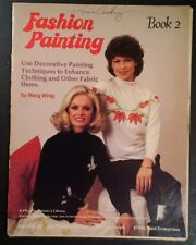 FASHION PAINTING 1981 Book 2 Retro Cool! Hipster Art RARE VHTF Artwork