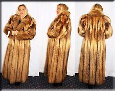 New Tanuki Fur Coat Size Large 10 12 L Efurs4less