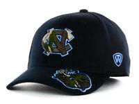 North Carolina Tar Heels Top of the World NCAA Black Camo Flex Fit Hat Cap