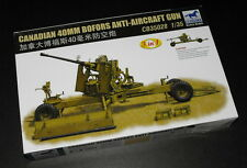 Bronco Model kit 1/35 Canadian 40mm Bofors Anti-Aircraft Gun #CB35028