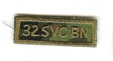Obsolete Modern Canadian Army CADPAT 32 SVC BN Title