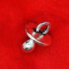 10 x tibetan silver mannequin sucette charme pendentif trouver Perles Fabrication de Bijoux