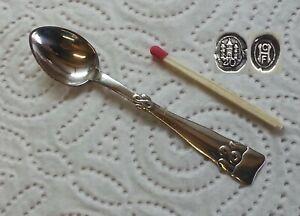 Fredericia Solv -  830er dänisches Silber  - Frederik der 8 - 1 Salzlöffel