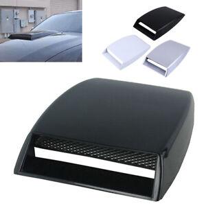 Universal Car Decorative Air Flow Intake Hood Scoop Vent Bonnet Cover