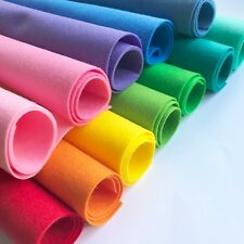 Craft Felt Sheets - Great Quality Soft Polyester - 22x22cm - Pick & Mix 51 Cols!