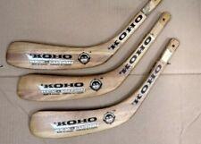 (3) Koho Revolution Wood Replacement Blade Ice Hockey Left Junior Mario Lemieux