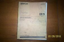 Caterpillar Parts Manual TH103 Telehandler