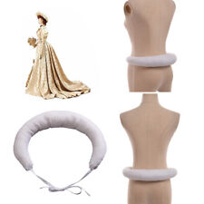 Vintage Crinoline Hanover Bustle Elizabethan Tudor Medieval Gowns Bum Roll White