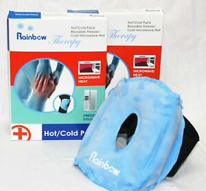 Rainbow Reusable Microwaveable Hot & Cold Gel Knee Pack With Case