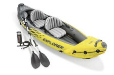 Intex Explorer K2 Inflatable Kayak 2-Person with Oars and Air Pump Ships ASAP!