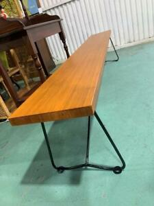 H40016 Timber and Metal Bench Seat 2 Available