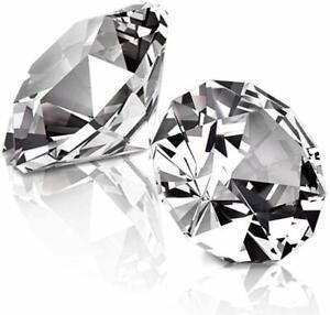 1lb Clear Acrylic Diamonds Wedding Bridal Shower Vase Fillers Table Centerpiece