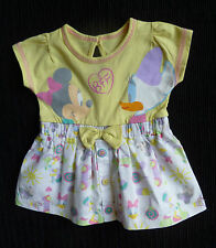 Baby clothes GIRL newborn 0-1m<9lbs/4.1kg Disney George Minnie/Duck cotton dress