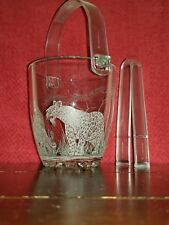 Ice Bucket Engraved Wildlife Leopard