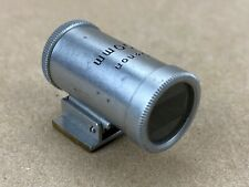 Canon RF 100mm View Finder Chrome #20013 Japan For Vintage Rangefinder Lenses