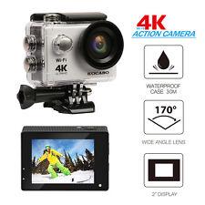 4K Waterproof DV Camcorder Ultra HD WIFI Camera Sports Action 6G+IR 170°Len US