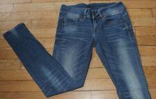 G-STAR Jeans pour Femme W 26 - L 32 Taille Fr 36 LYNN MID SKINNY  (Réf #S335)