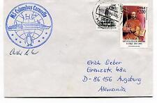 MS Columbus Caravelle Punta Arenas Chile Polar Antarctic Cover SIGNED
