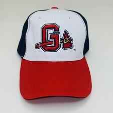 Gwinnett Braves MILB Stripers Chop On Tomahawk Hat Cap Atlanta Stripers