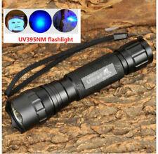 UltraFire 501B LG 5W UV Ultraviolet 395-405nm Flashlight Torch Pet Detector