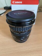 Canon EF 20-35mm f/3.5-4.5 USM Lens immaculate condition with box