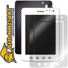 ArmorSuit MilitaryShield ViewSonic ViewPad 7e Screen Protector + Black Carbon