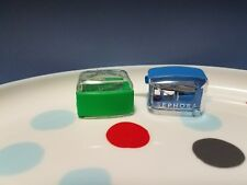 SEPHORA LOT OF 2 SMALL PENCIL SHARPENERS EYE & LIP NEW BLUE & GREEN