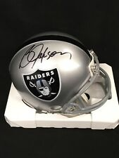 BO JACKSON RAIDERS SIGNED RIDDELL MINI HELMET AUTOGRAPHED PLAYER CERTIFIED