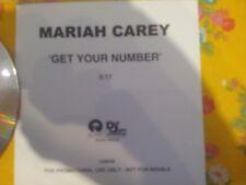 MARIAH CAREY - GET YOUR NUMBER -  PROMO