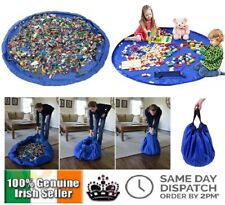 Large 150cm Play Mat Lego Storage Bag Portable Organiser Kids Toys Tidy Box Gift