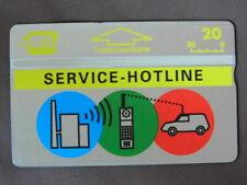 PRIVE Kaart MINT Ongebruikt Oostenrijk  /  SERVICE - HOTLINE