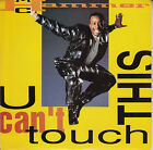 """M.C. HAMMER U Can't Touch This PICTURE SLEEVE 7"""" 45 record + jukebox strip RARE!"""