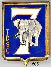 605 - ETATS ASSOCIES - 7e T.D.S.C.