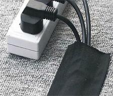 De pie Cubierta De Cables Cierre Adhesivo Alfombra Envolver 1mtr paquete 76mm