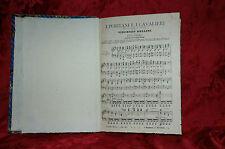 Spartito Musica 1880 I Puritani e I Cavalieri Vincenzo Bellini Pianoforte-Canto
