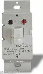 X10 WS467 White Dimmable Wall Switch Module With SOFT START Factory Fresh