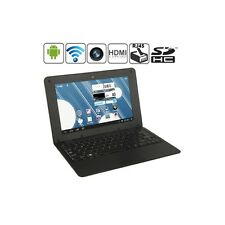 N10 Nero 10.1 pollici Android Netbook computer con porta RJ45 Webacm Frontale