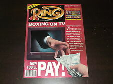 FEBRUARY 1991  THE RING BOXING MAGAZINE BOXING ON TV NOW YOU'LL PAY