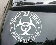 large ZOMBIE OUTBREAK RESPONSE TEAM Funny Car/Window JDM VW Vinyl Decal Sticker