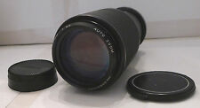 Film Camera Lens Vivitar N/AI Auto Zoom 80-200mm 1:4.5 55mm - TESTED