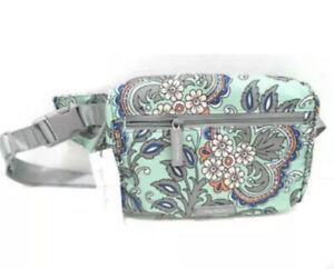 Vera Bradley Lighten Up BELT BAG Fan Flowers Fanny Pack Purse Handbag NWT $69