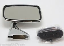 JAGUAR E-TYPE V12 SERIES 3 STAINLESS STEEL R/H TEX STYLE DOOR MIRROR GAM215A 6E3