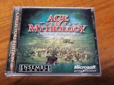 Age of Mythology: Original Game Soundtrack Cd 2002 Ensemble Microsoft